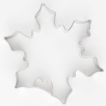 Cortador copo de nieve 6,5 cm.