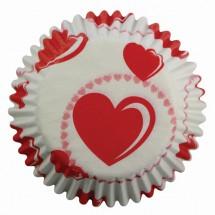 Cápsulas corazones PME