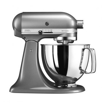 Nueva Kitchen Aid Artisan Silver Oscuro