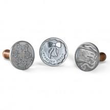 Set 3 sellos Navidad Nordic Ware