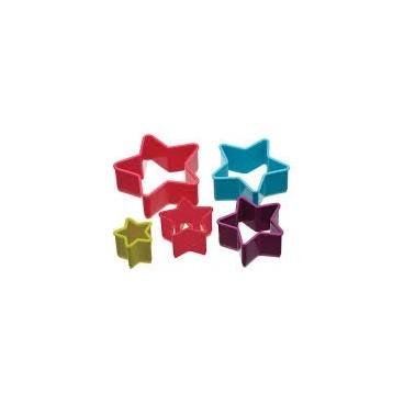 Colourworks Set de cortadores estrellas