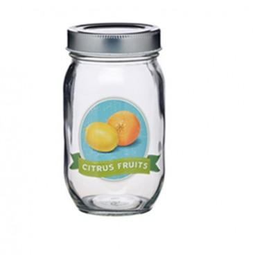 Tarro de vidrio Citrus Fruits