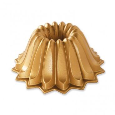 Lotus bundt pan gold