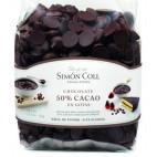 Gotas de chocolate 50% Simón Coll