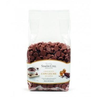 Gotas de chocolate con leche Simón Coll