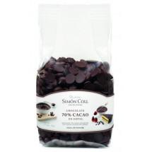 Gotas de chocolate 70% Simón Coll