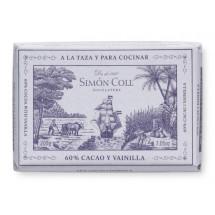 Cocolate a la taza cacao y vanilla