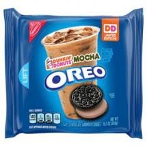 Oreos Dunkin' Donuts Mocha