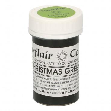 Sugarflair. Colorante en pasta Christmas Green