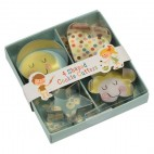 Set de 4 cortadores Home Baking