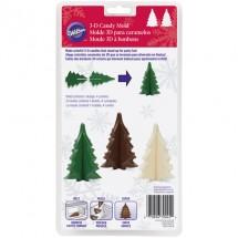 Molde árbol de Navidad 3D