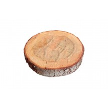Rodaja de madera de 14-18 cm