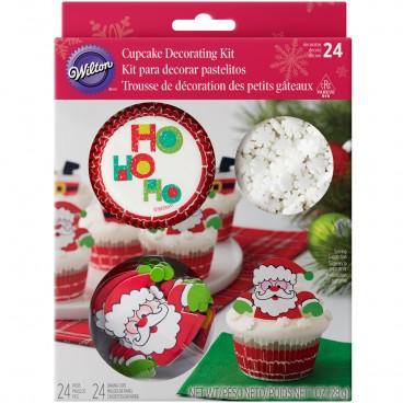 Kit de cupcakes Santa