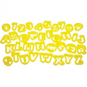 Cortadores Letras y Números Let's Make