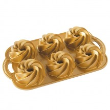 Heritage Gold Mini Bundt Pan