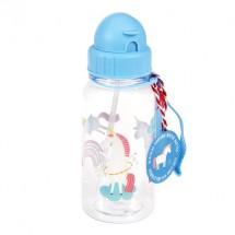 Botella de agua unicornio