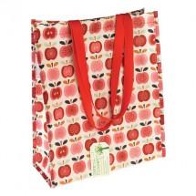 Bolsa de compra vintage apple