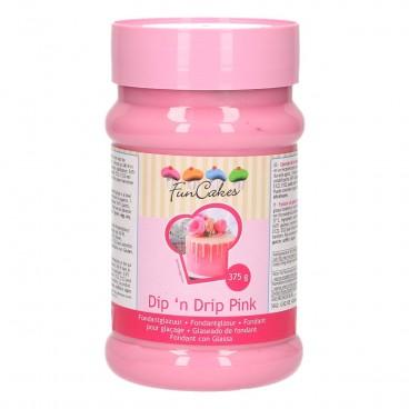 Fondant líquido rosa