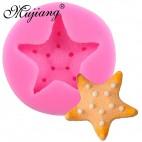 Molde de silicona estrella de mar