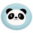 Plato de melamina Miko el panda