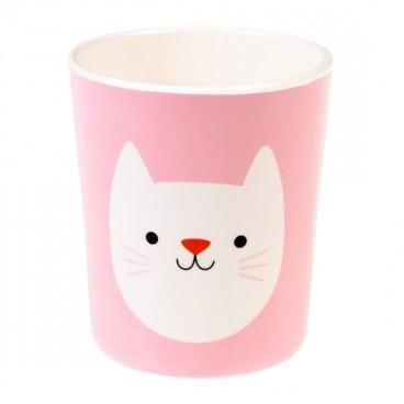 Vaso de melamina Cookie el gato