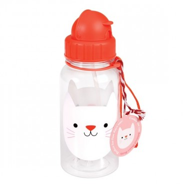 Botella de agua Cookie el gato