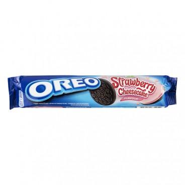 Oreo Strawberry Cheesecake