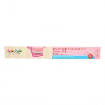 Disco de fondant extendido Sweet Pink