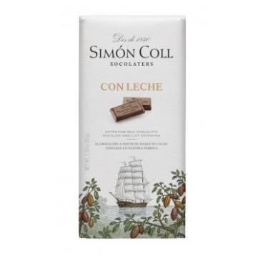 Tableta de chocolate con leche Simón Coll
