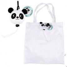 Bolsa plegable Miko el panda