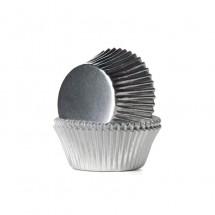 Cápsulas metalizadas plata. HoM
