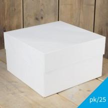 Caja blanca Funcakes 30x30x15