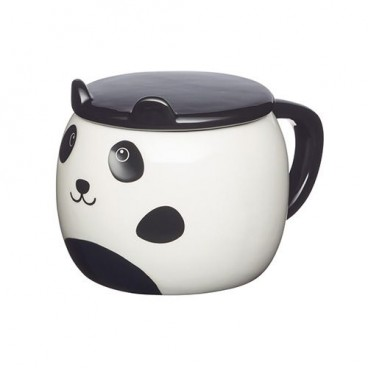 Taza cerámica panda