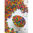 Rainbow Chocolate balls GF Sweetapolita