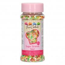 Fideos de azúcar - colores