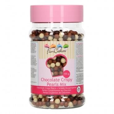 Chocolate Crispy Pearls -Mix-