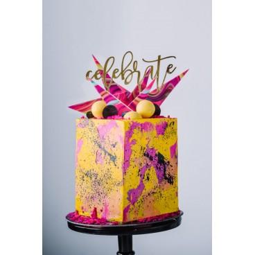 30/06 Square fiesta Cake - Historias del ciervo (reserva de plaza)