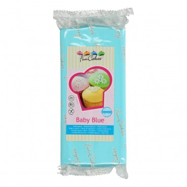 Funcakes Fondant Azul bebé 1 Kg