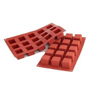 Molde silicona Cube