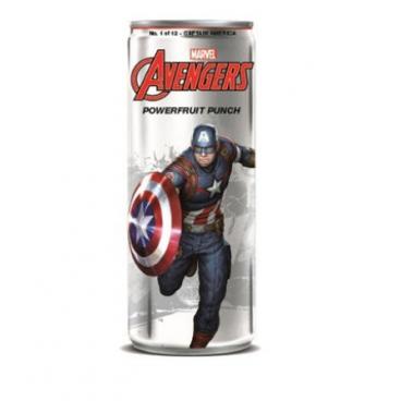 Soda Vengadores - Capitán América