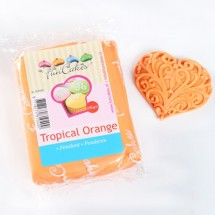 FunCakes Fondant Tropical Orange 250 gr