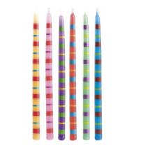 Velas de colores 13cm