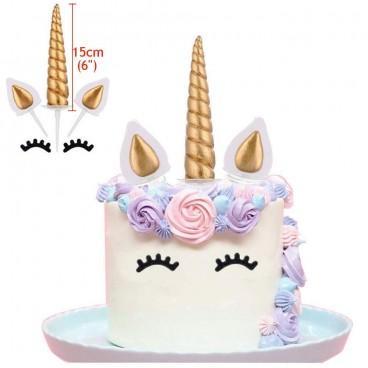 Set para tarta unicornio