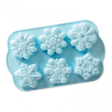 Disney Frozen 2- Molde 6 Copos de Nieve