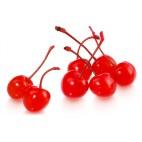 Cereza roja al Maraschino con tallo