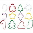 Set Cortadores Navidad, 12u