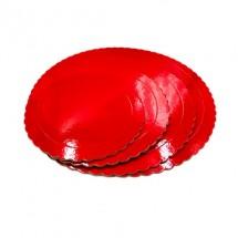 Base roja 3mm 20cm