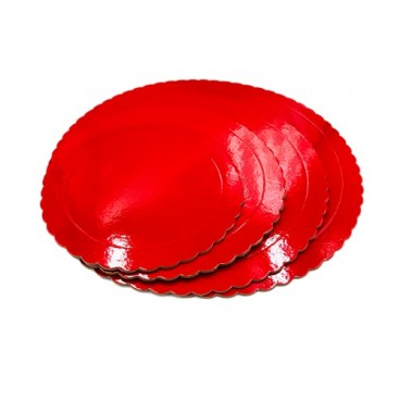 Base roja 3mm 25cm