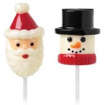 Molde para piruletas o marshmallow Navidad