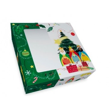 Caja roscón 40x30x8